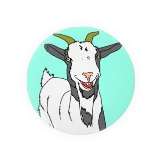 笑うヤギ Badges