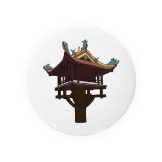 ハノイの一柱寺 Badges