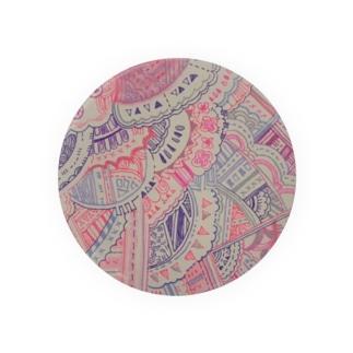 ピンクの世界 Badge