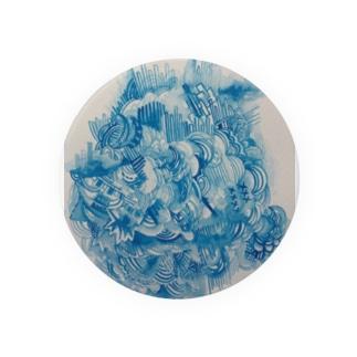 青の世界 Badge