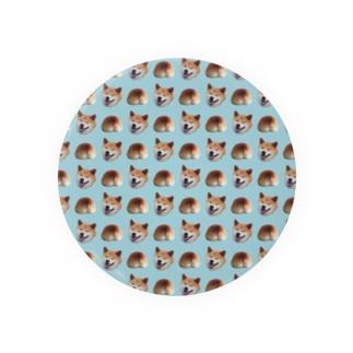 イヌオシリ(light blue ver) Badges