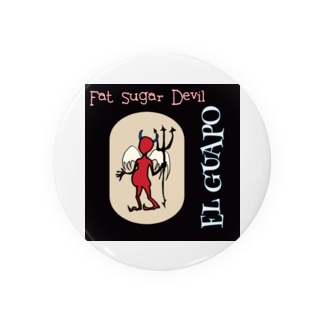 Fat Sugar Devil Badges