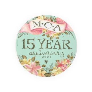 MCA15周年 Badges