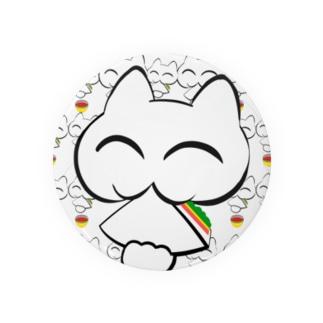🥪🐱幸せの招き猫 サンドとスープ 💕バーション Badges