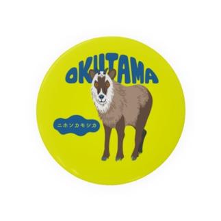 奥多摩 ニホンカモシカ Badges