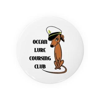 OLCCグッズロゴ(レッド) Badges