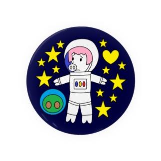 『宇宙遊泳するブララさん』 Badges