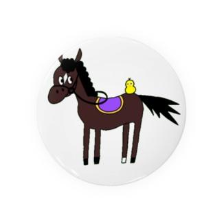 お馬さん。 Badges