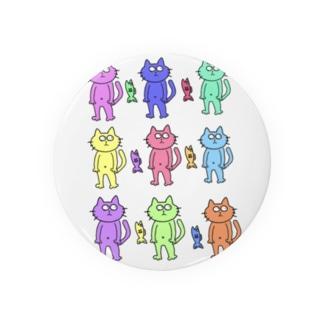 カラフル猫さん Badges