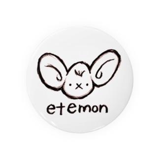 エテモン線画チック Badges