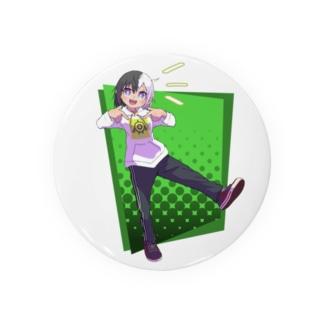 ツートンちゃん(緑背景) Badges