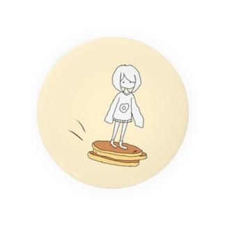 パンケーキの術 缶バッジ