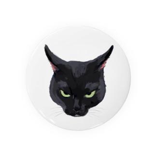キライ猫イラスト Badges