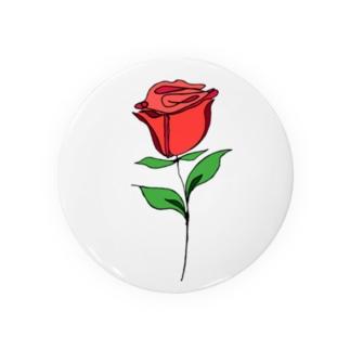 Rose_ひと筆風 Badges