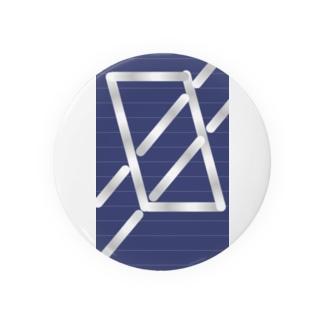 四角パターン3 Badges