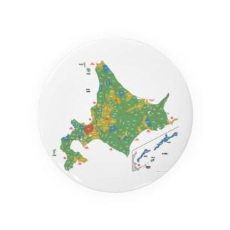 北海道179市町村地図 Badges