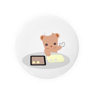 クッキーとクマさん Badges