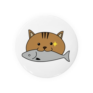お魚くわえたどら猫 Badges