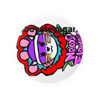 Oboeteyagare by Neko9 Flower Badges
