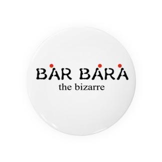 京都バルバラのグッズだよのバルバラロゴシリーズ Badge