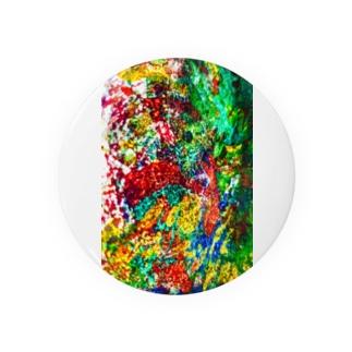 絵画の花 Badges