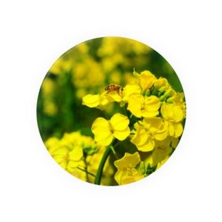 菜の花と蜜蜂 Badges