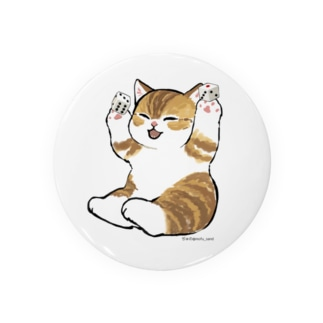 喜ぶ猫 Badges