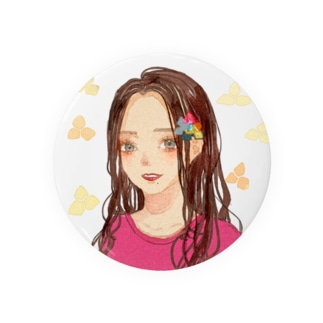 Kawaii!女の子 Tin Badge
