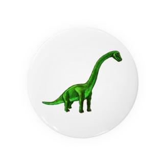 ブラキオサウルス Badges
