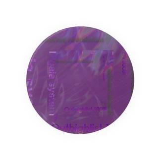 テキスト2021 パープル Badges
