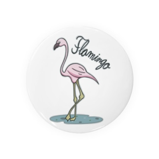 フラミンゴ Badges