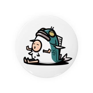 fishing君 Tin Badge