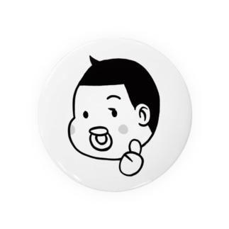 とーちんロゴ(親指グー) Badges