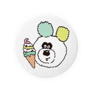 アイスとりのくまちゃん Badges