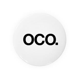 OCO 缶バッジ