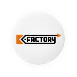kimchinのK-FACTORY ロゴ Badges
