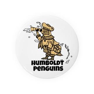水兵のフンボルトペンギン Tin Badge