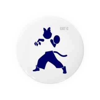 ピクトグラムキャットC Badge