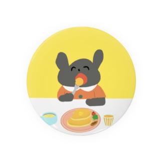 くうちゃんホットケーキ食べるの Badge