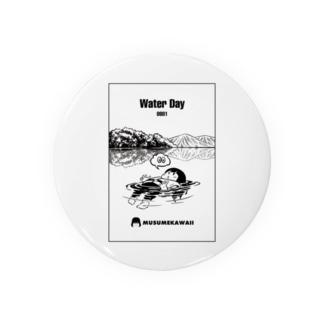 0801「#水の日 」 Badge