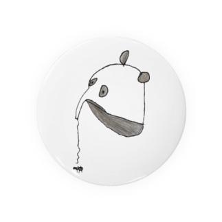 ぱんありくい Tin Badge