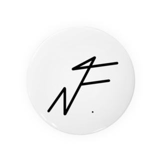 NF. Tin Badge