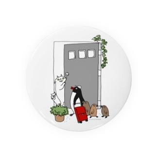 こんにちはペンギンさん Badges