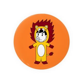 ライオンピッグ(缶バッジ版) Badge
