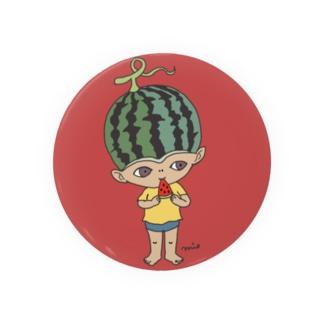 mio_urakamiのスイカボーイ Badge