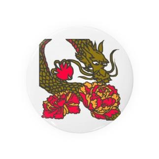 龍と牡丹 Badges