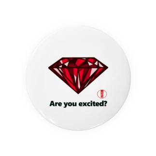 are you excited ? 赤 Badges