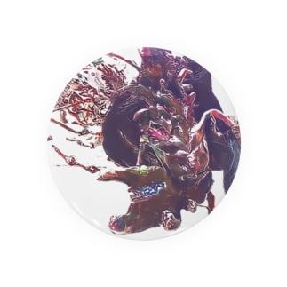 蟷螂の斧 オオカツ Badges