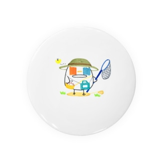 ひよこさんの夏休み 0826 Tin Badge