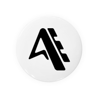 スポーツメーカー風のロゴ 缶バッジ
